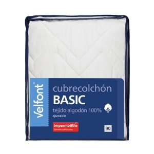 Cubrecolchon Velfont Basic Algodon