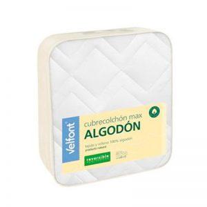 Cubrecolchón Velfont Max Algodon